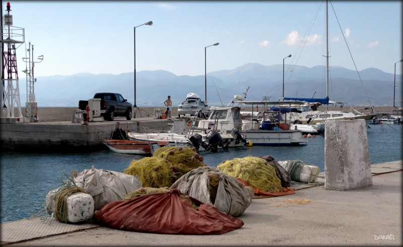 There in that small fishing port … .. .